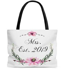 Floral Banners, Wedding Shower Gifts, Reusable Grocery Bags, Bridal Gifts, Bridesmaid Gifts, Presents, Amazon, Bridesmaid Presents, Gifts