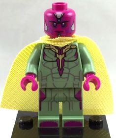 Lego Vision from Avengers Age of Ultron