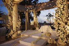 Venue: St. Regis Monarch Beach Planner: International Event Company Band: West Coast Music Sound: Design Sound Photographer: John Russo Photography Videographer: Vidicam Productions Florist: Mark's Garden Lighting: Images By Lighting Ballroom Table and Chairs: Revelry Event Designers Dance Floor: BB Rodeo Dance Floor Chameleon Chairs: Classic Party Rentals Rentals and Draping: Palace Party Rental Fireworks: Pyrite Pyrotechnics Wedding Dresser: A Stitch in Time Late Night Snacks: In N Out…