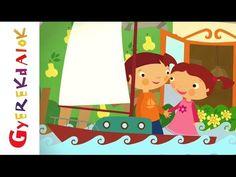 Elvesztettem zsebkendőmet (gyerekdal, rajzfilm gyerekeknek) - YouTube