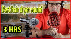 Best hair dryer sound ASMR 3 Hours