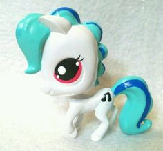 DJ PON 3 * OOAK Custom Littlest Pet Shop My Little Pony