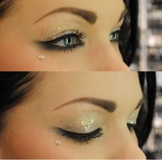 Eyes W/Glitter