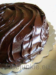 chocolate cake with a glass of milk! Chocolate Cake Photos, Perfect Chocolate Cake, Chocolate Cakes, Chocolate Pictures, Pie Cake, No Bake Cake, Gourmet Recipes, Dessert Recipes, Gourmet Foods