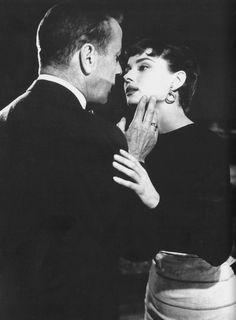 Humphrey Bogart and Audrey Hepburn, Sabrina.