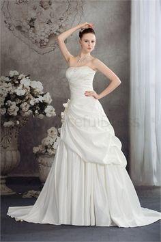 Court Train Satin Corset-back Sleeveless Wedding Dress  http://www.GracefulDress.com/Court-Train-Satin-Corset-back-Sleeveless-Wedding-Dress-p19238.html