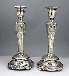 pr Gorham sterling special order candlesticks