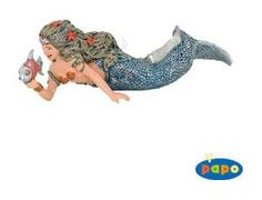 The Mermaid from the Papo Fairytale World collection - Discounts on all Papo Toys at Wonderland Models. One of our favourite models in the Papo Fairytale range is the Papo Mermaid. Papo manufacture wonderful, amazingly accurate models of all sorts of toy figures, particularly fairytale figures including this model of the Mermaid which can be complemented by any of the items in the Fairytale or Fantasy ranges.