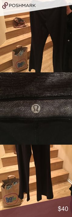 Reversible Workout pants Lululemon Work out reversible pants lululemon athletica Pants Track Pants & Joggers