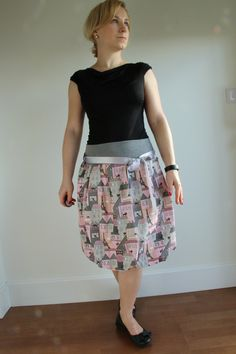 A personal favourite from my Etsy shop https://www.etsy.com/listing/490244444/cat-print-skirt-bubble-skirt-women-skirt
