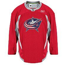 Columbus Blue Jackets practice jersey - this shall soon be mine.