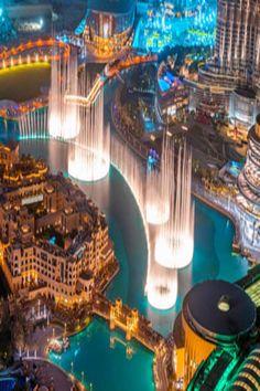 dubai dancing water down T Double Plug Socket vinyl cover skin sticker room by STICKEYWORLD on Etsy Las Vegas Strip, Bellagio Las Vegas, Beauty Around The World, Around The Worlds, Resorts, Wet Design, Vlog Youtube, Dubai Tour, Dubai City