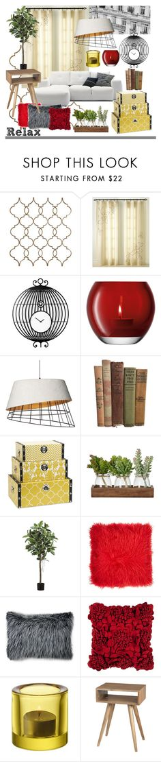 """red"" by soy-sony-gg on Polyvore featuring interior, interiors, interior design, hogar, home decor, interior decorating, CHF, Diamantini & Domeniconi, LSA International y BoConcept"