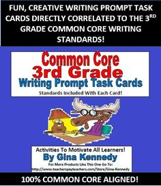 Writing activity for 3rd grade common core