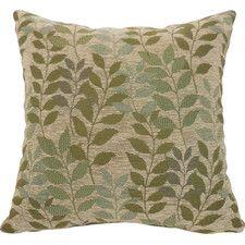 Fabian Chenille Leaf Toss Throw Pillow (Set of 2)
