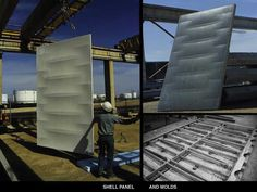 Fabric formed concrete wall panels