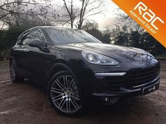 Cool Porsche Used Basalt Black Porsche Cayenne for Sale Porsche 2017, Used Porsche, Porsche Cars For Sale, Black Porsche, Car Finance, Performance Cars, Used Cars, 4x4, Cool Stuff