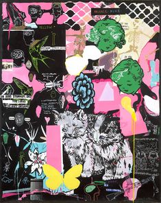 Dan Baldwin's many influences run riot through the artist's multi-layered, pop culture-infused works...