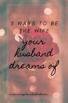 5 ways to be the wife your husband dreams of. The best tips and ideas for Christian women wanting a happy marriage filled with respect, trust, and good communication. The best tips for Christian women wanting to be in a successful marriage. Successful Marriage Tips, Healthy Marriage, Marriage Goals, Marriage Relationship, Happy Marriage, Marriage Advice, Healthy Relationships, Love And Marriage, Fixing Relationships