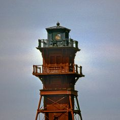 Chesapeake Bay lighthouse--Craighill Channel RLR