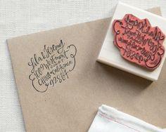 Custom Address Stamp // 2x2