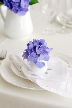 table setting: