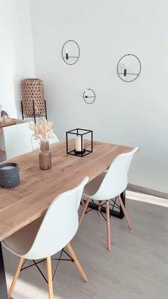 Living Room Decor Ikea, Home Decor Bedroom, Home Living Room, Living Room And Dining Room Design, Ikea Dining Room, Home Room Design, Home Interior Design, Room Interior, Dining Room Inspiration