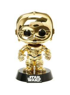 Funko Star Wars Pop! Gold C-3PO Vinyl Bobble-Head 2015 Summer Convention Exclusive | Hot Topic