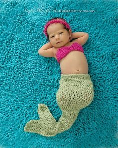 Mermaid Diaper Cover Set $34