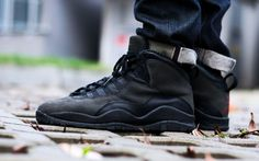 """Jordan Brand will be re-releasing the Air Jordan 10 """"Shadow"""" in Last seen in the CDP in the underrated Air Jordan 10 wasn't th. Air Jordan Sneakers, Jordans Sneakers, Air Jordans, Men Sneakers, Jordan 10, Jordan Outfits, All About Shoes, Shoe Game, Basketball Shoes"""