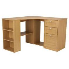 buy fraser corner desk with storage from our office desks tables range tesco buy home office desk