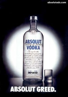 Absolut Greed