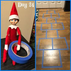 Hopscotch Are you looking for fun things to do with those silly elves this year? Here are over 100 adorable ideas that kids of all ages are sure to love! Christmas Elf, All Things Christmas, Christmas Humor, Christmas Ideas, Awesome Elf On The Shelf Ideas, Elf On The Shelf Ideas For Toddlers, Kindness Elves, Elf Auf Dem Regal, Elf Magic