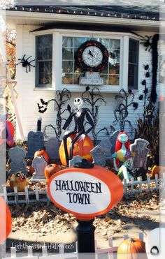 Nightmare Before Christmas Decorations Make | Watch for my later ...