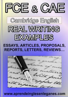 FCE & CAE- Real Writing Examples