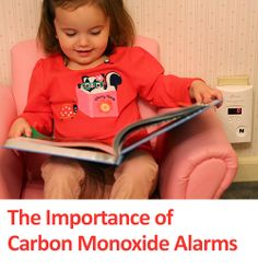 The importance of carbon monoxide alarms and why every home should have them on every level. #safety #poisonprevention #home #parenting