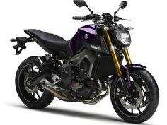 um painel sobre motos