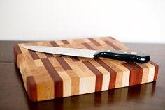 Butcher Block End-Grain Cutting Board  Handmade  by Filaments and Fixtures on Etsy, $135.00