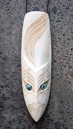Owen Mapp Kura Gallery Maori Art Design New Zealand Aotearoa Bone Carving Whalebone Rei Puta Paua