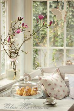 Blue Hortensia: U proljeće poželim ..