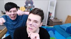 PHIL is me when dan had this hair