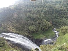Karuru waterfall 2nd largest in Africa, in Aberdares national park, Nyeri #Kenya is a #Wonderland