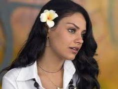 How to Make Floral Hair Clips, Hair Flowers similar to Mila Kunis DIY, via YouTube.