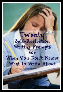 Blog post: 20 Self-Reflection Writing Prompts for When You Don't Know What to Write About