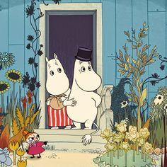 Lila and Cloe: MOOMINS ON THE RIVIERA {film} + MUMIN COMIC BOOKS ...