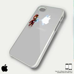 iron man laser apple case Iphone