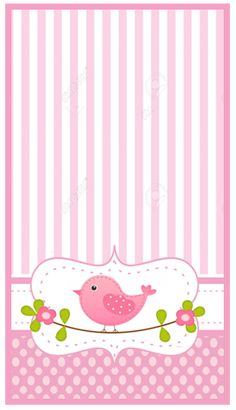 mini baggio -candy bar shabby chic kit imprimible Printable Scrapbook Paper, Baby Scrapbook, Bird Birthday Parties, Baby Stickers, Bird Party, Baby Shawer, Bird Theme, Butterfly Frame, Borders For Paper