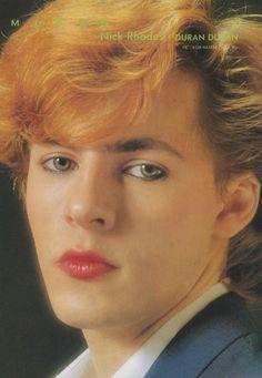 Nick Rohdes of Duran Duran (1983)