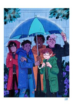 The paladins by arc-etype #voltron #fanart