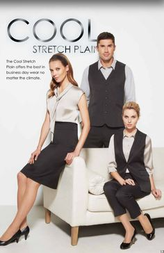 Cool stretch plain corporate range